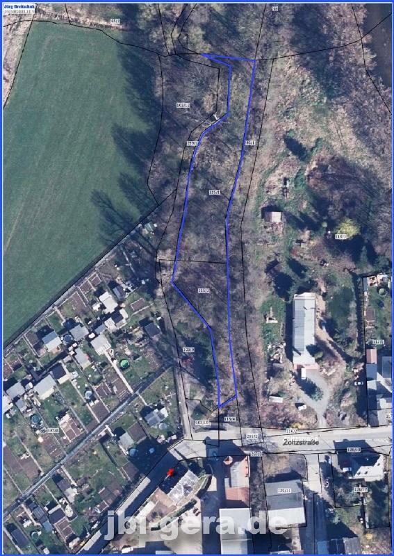 Lage Flurkarte Luftfoto