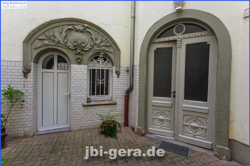 Innenhof Hauseingang