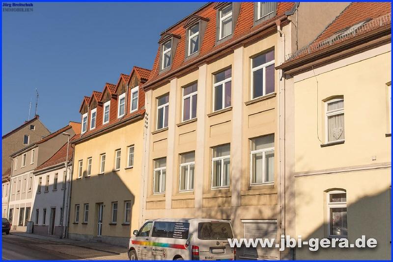 Ansicht Gebäude Adolph Geyer Str 11 und 13